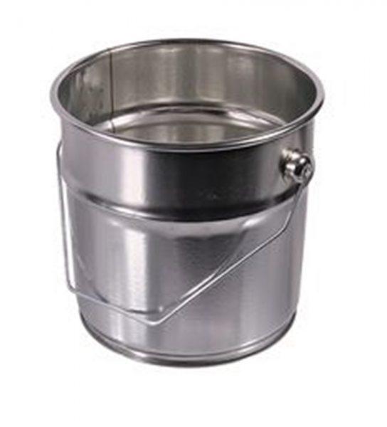 Metalen strijkvat 2,5 liter
