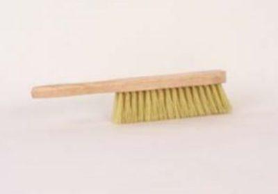 Behangborstel klein wit haar