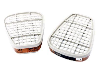 Paar A1 filters voor easy-air halfgelaatsmasker 3M 06911