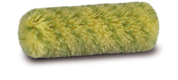 Radiatorrol 10 cm, groene schilderstreep 13 mm, thermofusie