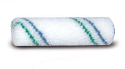 Radiatorrol, 10 cm, nylon blauw groene streep 6 mm, thermofusie