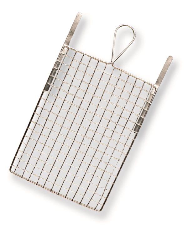 Verfrooster, metaal mini, 11 x 20 cm met flex haak
